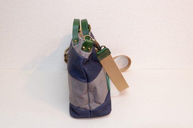 アライ2wayハンドバッグ 帆布×本牛革