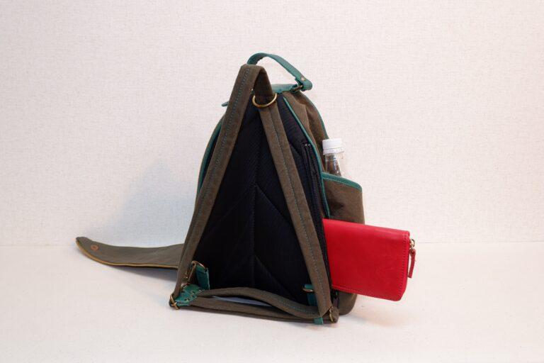 トリカゴリュック 帆布 カーキー