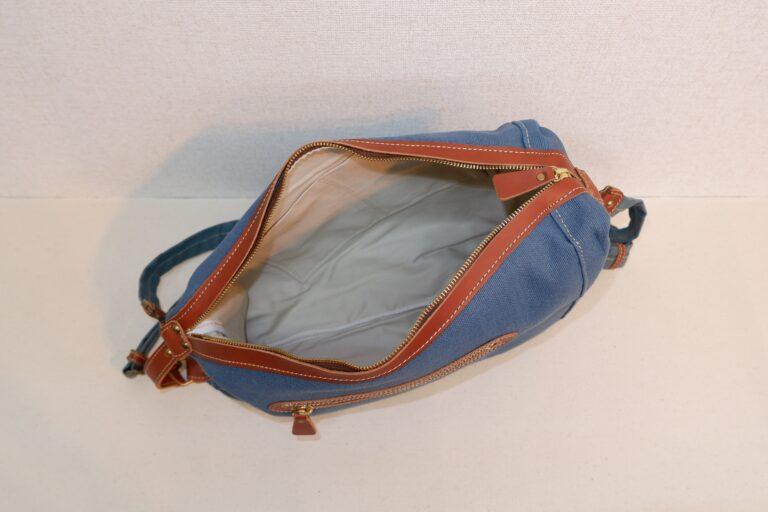 ドータクリュック 帆布 ブルー