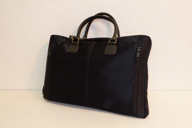 2wayビジネスバッグ ナイロン ブラック
